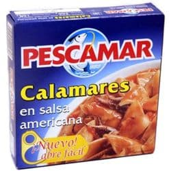 Squid in American Sauce 266g | Spanish | Calamares | Salsa Americana | Buy Online | UK