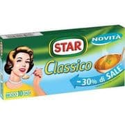 Star Classico Low Salt Italian Beef Stock Cubes - pack of 10
