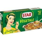 Star Italian Vegetable Stock Cubes - Large Pack of 20