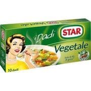 Star Italian Vegetable Stock Cubes - pack of 10