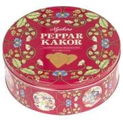 Swedish Ginger Snap Hearts in Tin 400g (Pepparkakor)