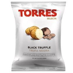 Black Truffle Crisps 125g | Large | Torres | Buy Online | Chips | Spanish | UK