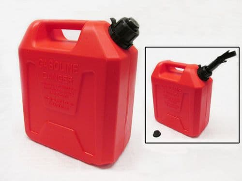 10 Litre Auto Shut Off Jerry Can - 10L Fuel Liquid Diesel Petrol Container Store Breather Gerry Tank