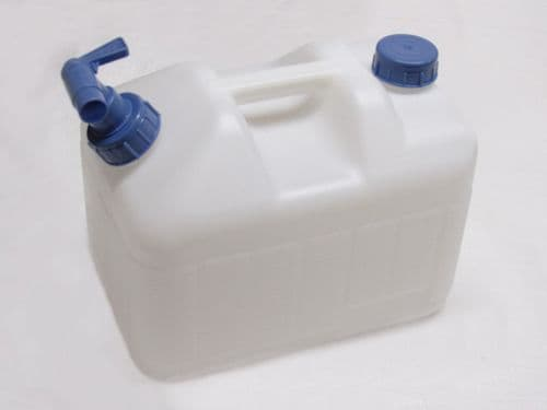 10 Litre Water Carrier - Caravan Motorhome Camping Fishing Home Garden Rigid