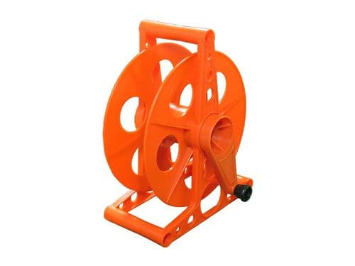 Empty Cable Reel with Base 45M (Extension Cord Tidy Wheel Storage Drum Caravan)
