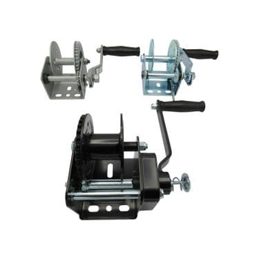 Hand & Electric Winches, Straps & Cables