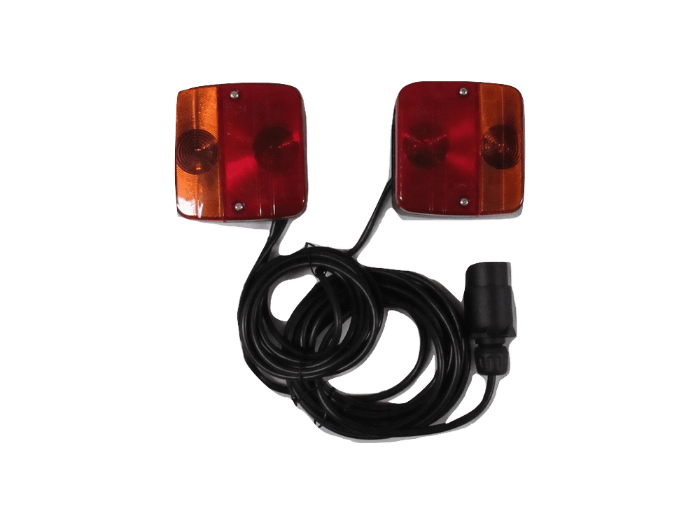 Rear Magnetic Trailer Lights With 12M Cable - Tractor Light Board Trailer Towing Lamp