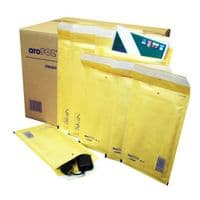Arofol Classic Gold Bubble Lined Envelopes/Bags 120 x 215mm Size 2