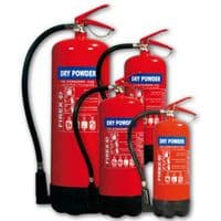 Dry Powder ABC Fire Extinguishers Home Office Car 4KG Capacity