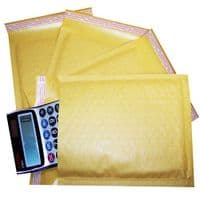 Gold Padded CD Size Bubble Envelopes 165x170mm