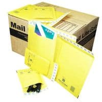 Mail Lite Gold Padded Envelopes B/00 120 X 210MM