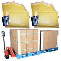 Pallets of Gold Padded Envelopes Bulk Discount
